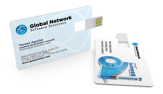 2GB USB Business Card