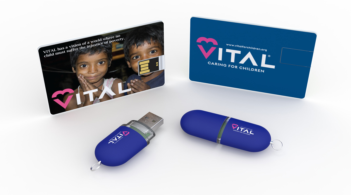 Flashbay donerer til Vital For Children Charity