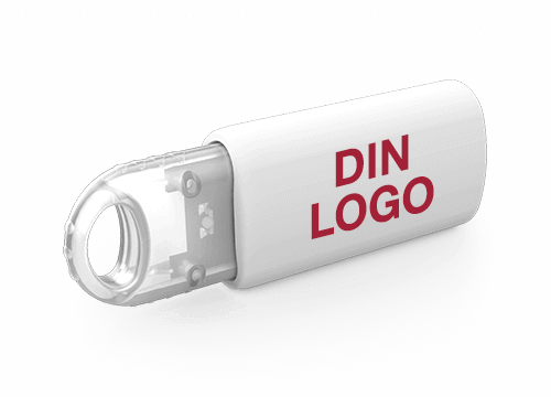 Kinetic - USB Minne Med Logo